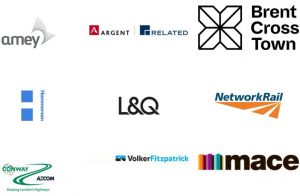 A selection of partners working on the Brent Cross Cricklewood regeneration programme
