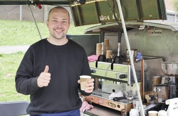 James Colbourne of Cricklewood Coffee