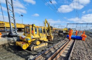 Bank holiday works at Brent Cross West station