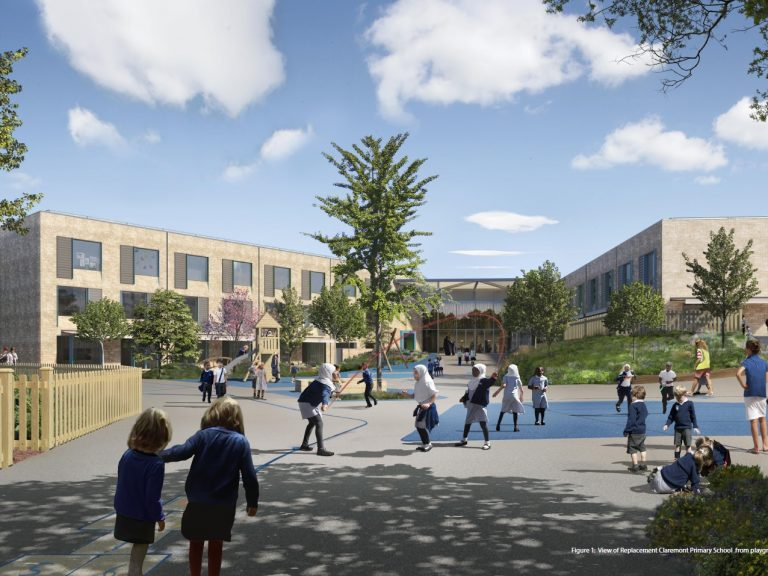CGI of the the new Claremont Primary School