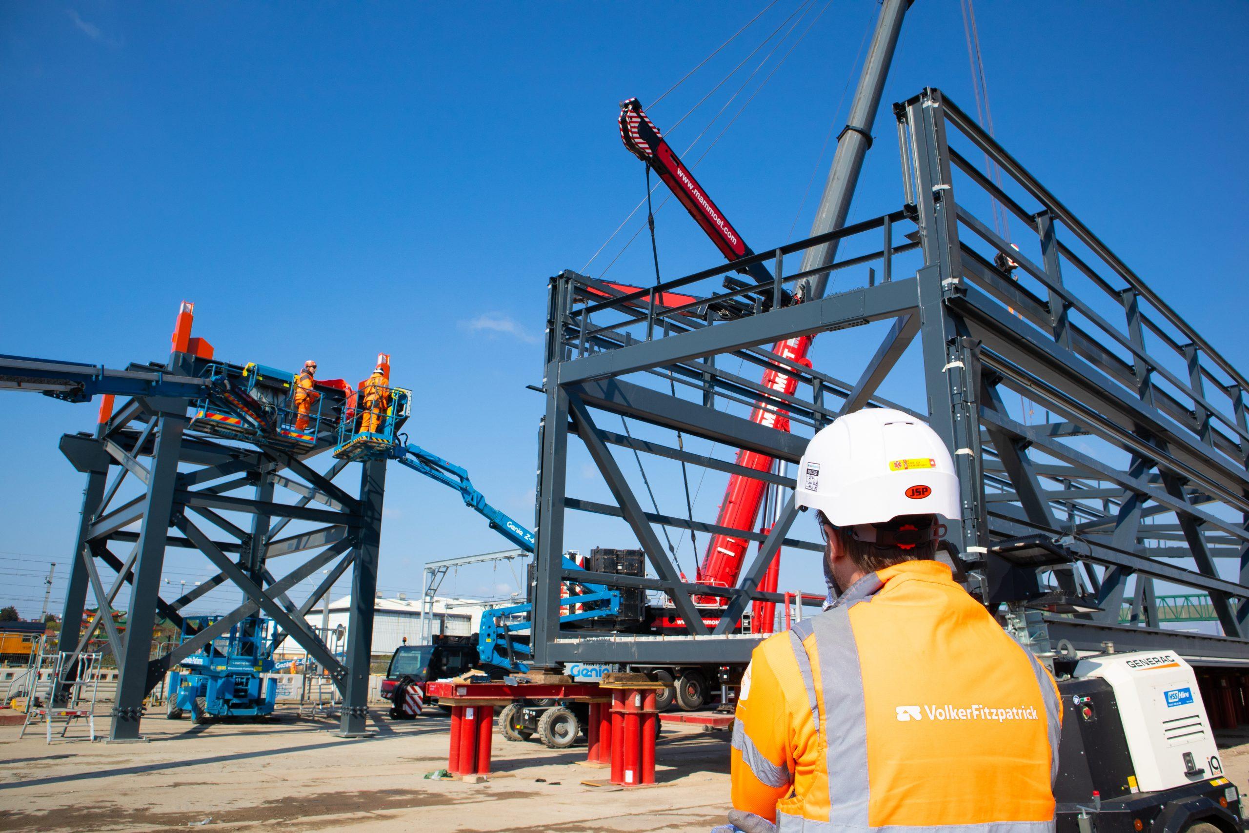 The Eastern Overbridge installation
